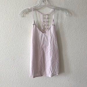 Lululemon Breezy singlet pink tank top small